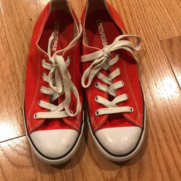 Converse Kvinner Størrelse 8 Røde z7kJ5Q